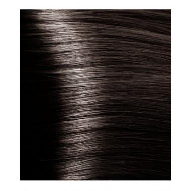 S 4.12 коричневый пепельно-перламутровый, крем-краска для волос с экстрактом женьшеня и рисовыми протеинами, 100 мл
