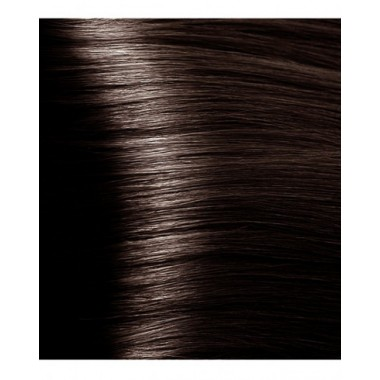 S 4.81 коричнево-пепельный, крем-краска для волос с экстрактом женьшеня и рисовыми протеинами, 100 мл