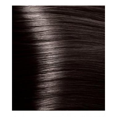 NA 3 темно-коричневый, крем-краска для волос с кератином «Non Ammonia», 100 мл