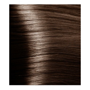 NA 6.07 насыщенный холодный темный блонд, крем-краска для волос с кератином «Non Ammonia», 100 мл