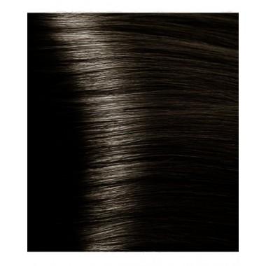 S 4.1 пепельно-коричневый, крем-краска для волос с экстрактом женьшеня и рисовыми протеинами, 100 мл