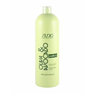 Шампунь увлажняющий для волос с маслами авокадо и оливы, 1000 мл