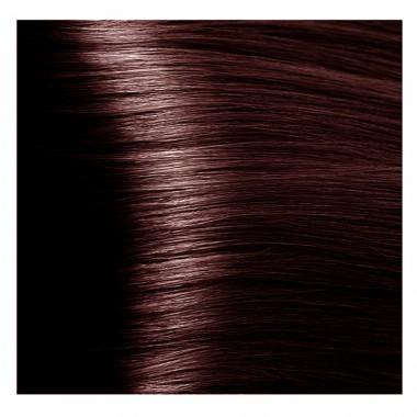 NA 5.53 светлый коричневый махагоновый, крем-краска для волос с кератином «Non Ammonia», 100 мл