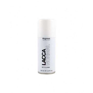 Лак аэрозольный для волос нормальной фиксации 'Lacca Normal', 100мл