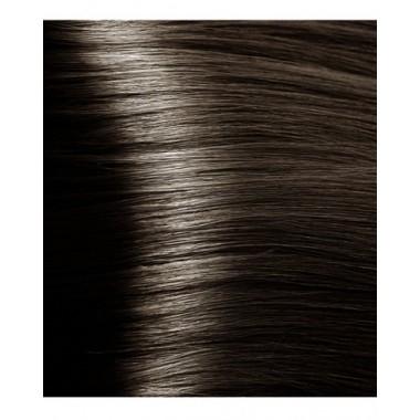 NA 6.81 темный коричнево-пепельный блонд, крем-краска для волос с кератином «Non Ammonia», 100 мл
