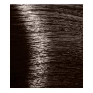 S 4.0 коричневый, крем-краска для волос с экстрактом женьшеня и рисовыми протеинами, 100 мл