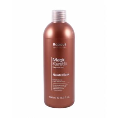 """Нейтрализатор для долговременной завивки волос с кератином серии """"Magic Keratin"""", 500мл"""