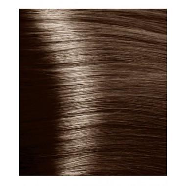 NA 6.0 насыщенный темный  блонд, крем-краска для волос с кератином «Non Ammonia», 100 мл
