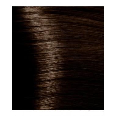 NA 5.0 насыщенный светло-коричневый, крем-краска для волос с кератином «Non Ammonia», 100 мл