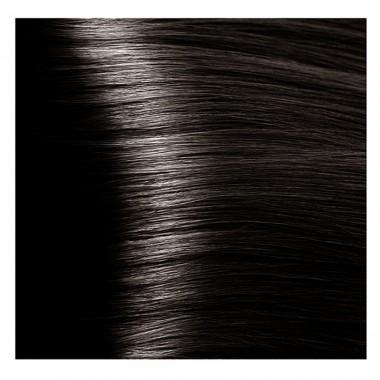 NA 5.81 светлый коричнево-пепельный, крем-краска для волос с кератином «Non Ammonia», 100 мл