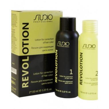 Лосьон для коррекции цвета волос «RevoLotion», 150 мл + 150 мл