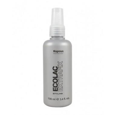 """Лак для волос жидкий сверхсильной фиксации """"Ecolac Extrafix"""", 100 мл"""