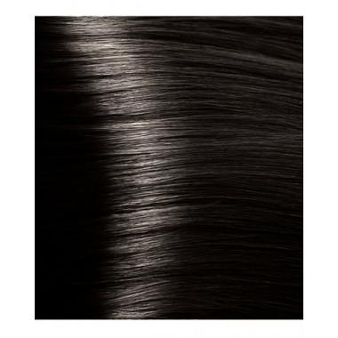 HY 4.00 Коричневый интенсивный, крем-краска для волос с гиалуроновой кислотой, 100 мл