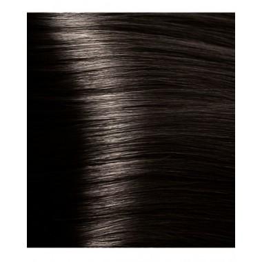 HY 4.12 Коричневый табачный, крем-краска для волос с гиалуроновой кислотой, 100 мл