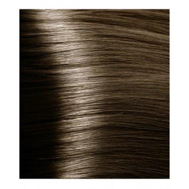 NA 7.07 насыщенный холодный блонд, крем-краска для волос с кератином «Non Ammonia», 100 мл