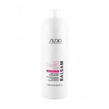 Бальзам для окрашенных волос с рисовыми протеинами и экстрактом женьшеня, 1000 мл