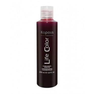 Оттеночный шампунь для волос, Гранатовый красный, 200мл