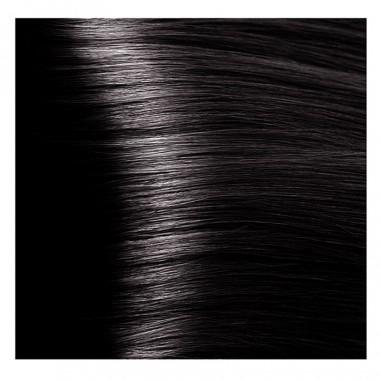 NA 4.81 коричнево-пепельный, крем-краска для волос с кератином «Non Ammonia», 100 мл