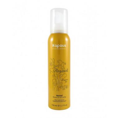 """Мусс для укладки волос нормальной фиксации с маслом арганы серии """"Arganoil"""", 400мл"""