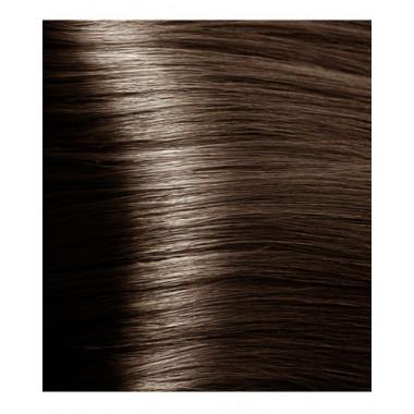 HY 6.81 Темный блондин капучино пепельный, крем-краска для волос с гиалуроновой кислотой, 100 мл