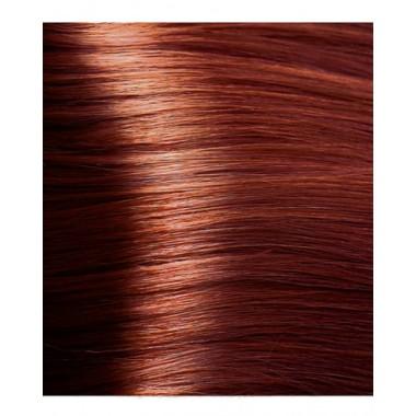 NA  8.44 светлый интенсивный медный блонд, крем-краска для волос с кератином «Non Ammonia», 100 мл
