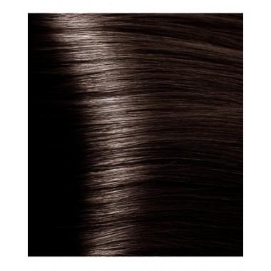 HY 4.81 Коричневый какао пепельный, крем-краска для волос с гиалуроновой кислотой, 100 мл