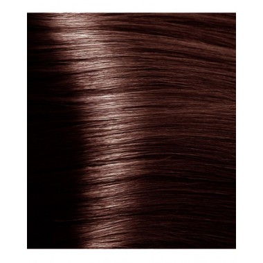 NA 6.4 темный  медный блонд, крем-краска для волос с кератином «Non Ammonia», 100 мл